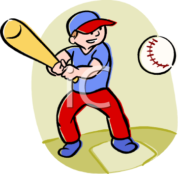Royalty Free Baseball Clipart