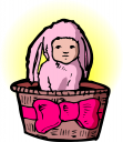 Easter People Clipart