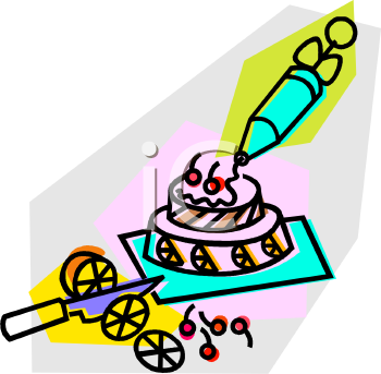 Cake Decor Clipart : Royalty Free Cake Clipart