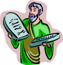 10 Commandments Clipart
