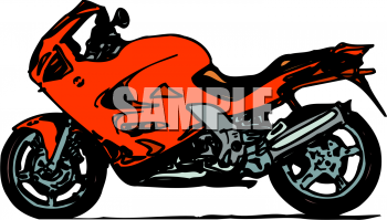 Royalty Free Motorcycle Clipart