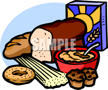 Royalty Free Clipart of Cereal