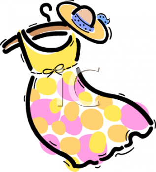 Royalty Free Dress Clipart