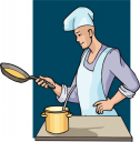 Cook Clipart