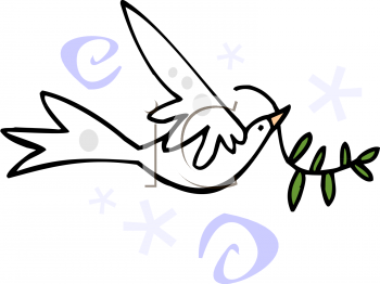 Easter Clip Art Dove