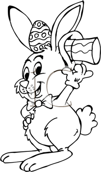 Royalty Free Black and White Easter Clipart Easter Clipart Free Black And White