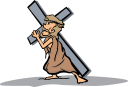 Easter Crucifixion Clipart