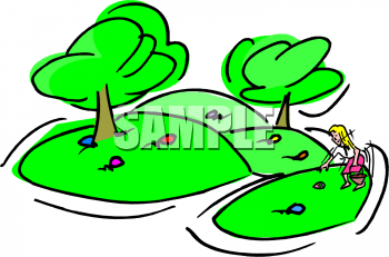 Easter Hunt Clipart