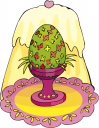 Easter Hearts Clipart