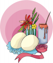 Easter Bows Clipart