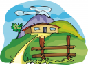 Farmhouse Clipart
