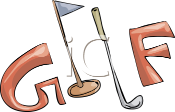 find clipart golf clipart image 13 of 410