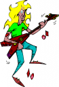 Rock And Roll Band Clip Art Rock n roll clipart