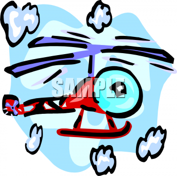 Helicopter Clipart