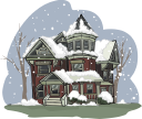 Victorian Building Clipart