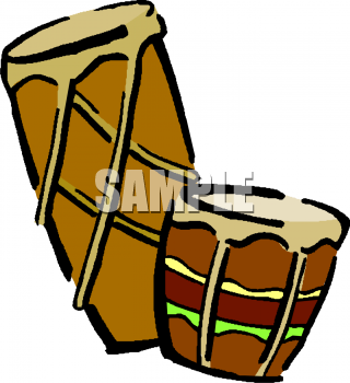 Royalty Free Drums Clipart