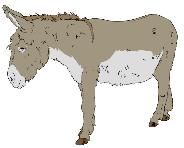 Free Mule Clipart Clipart Picture 3 Of 9
