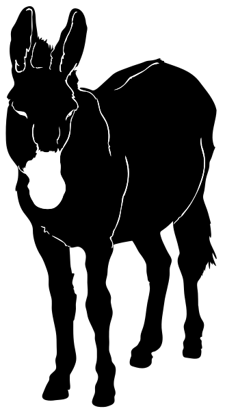 Free Mule Clipart