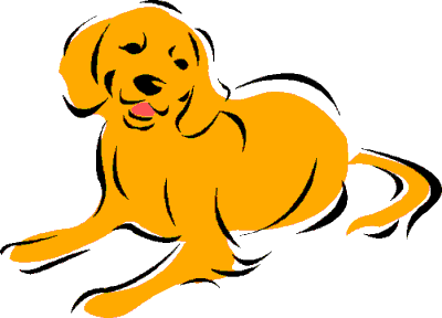 Free Dog Clipart, 12 pages of Public Domain Clip Art