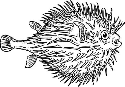 Free Pufferfish Clipart