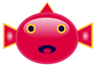 Free Red Fish Clipart