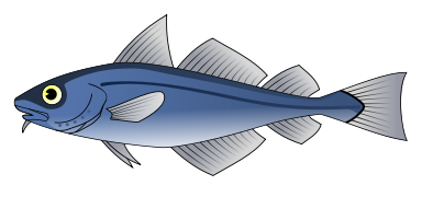 Free Blue Fish Clipart