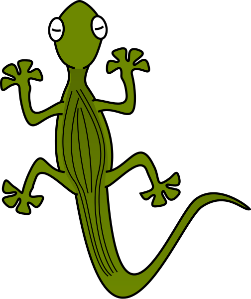 Free Gecko Clipart, 1 page of Public Domain Clip Art