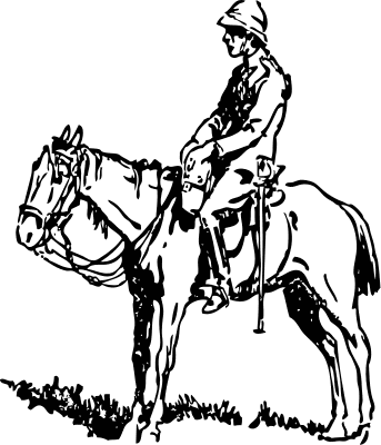 Free Horse and Rider Clipart