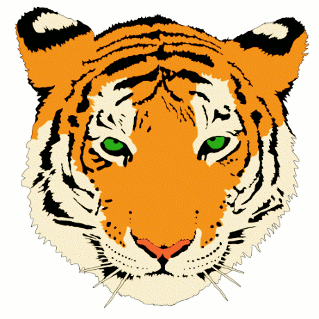 Free Siberian Tiger Clipart