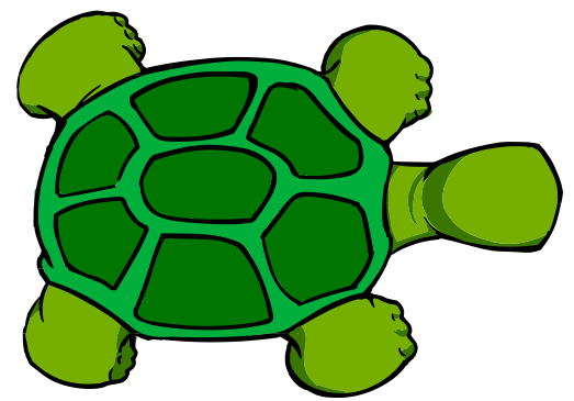 Free Cartoon Turtle Clipart