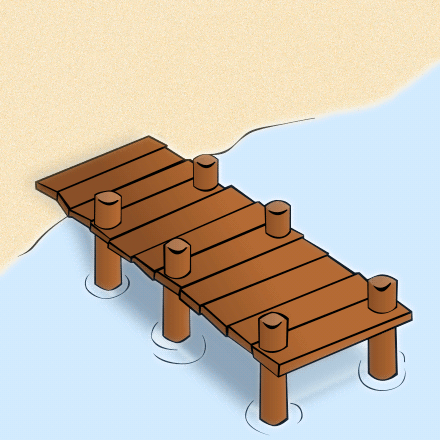 Free Dock Clipart