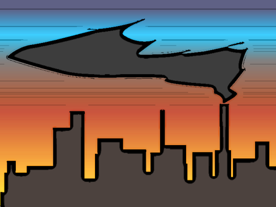 clipart sunset. Free City Clipart