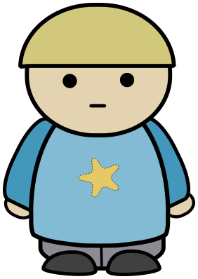 Free Poses Character Clipart