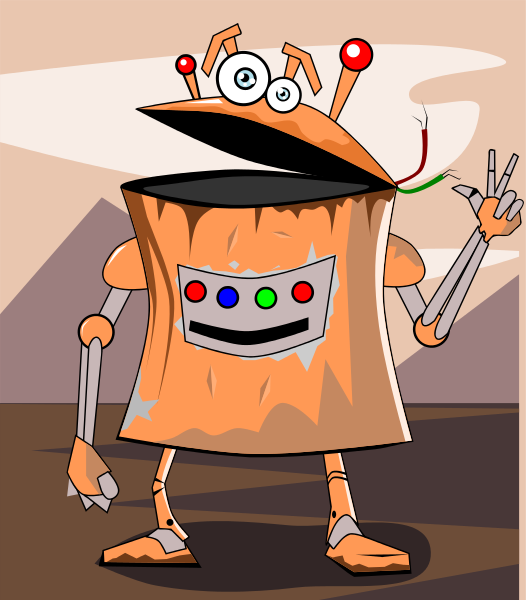 Free Robot Clipart