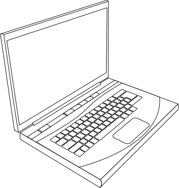 Free Laptop Clipart, 1 page of Public Domain Clip Art
