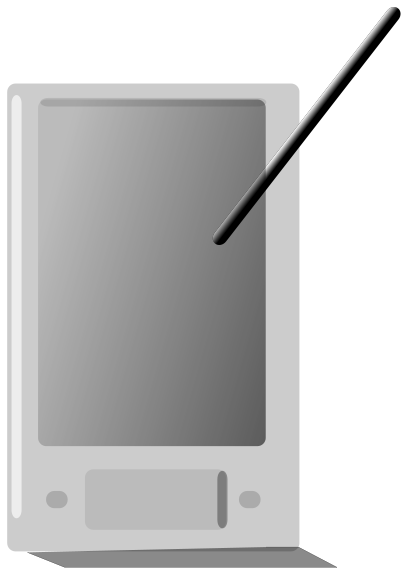 Free PDA Clipart