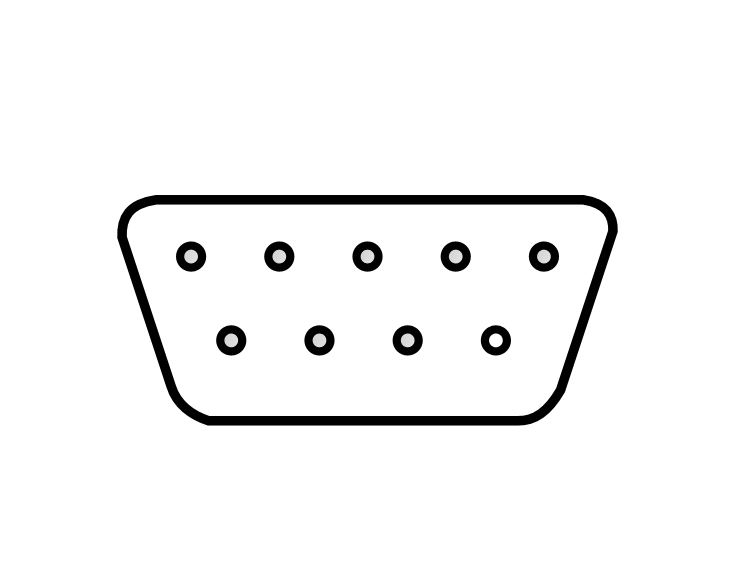 free computer connector clipart  2 pages of public domain