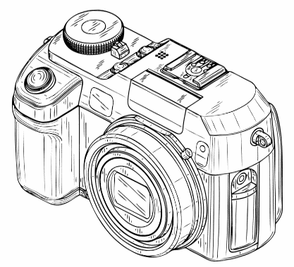 Camera Clip Art Black And White