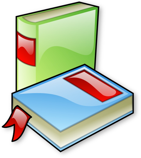 free clip art books reading. Free Blue Book Clipart
