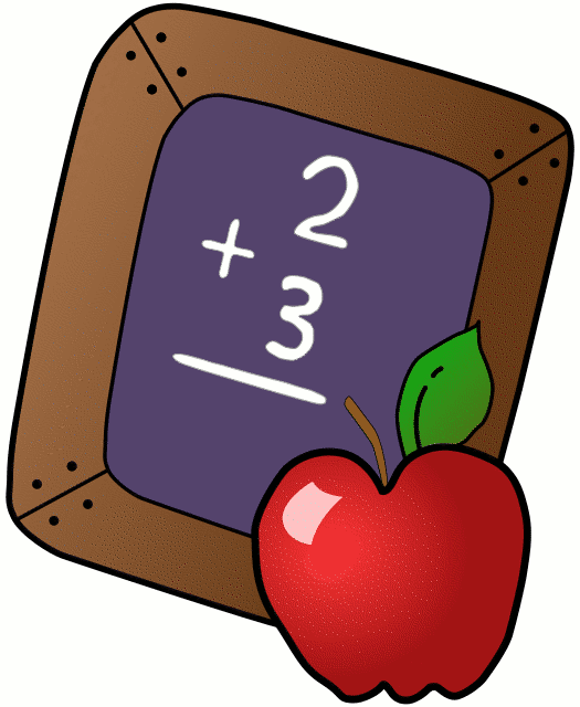 Free Teachers Apple   Clipart