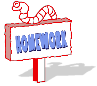 to do homework clipart