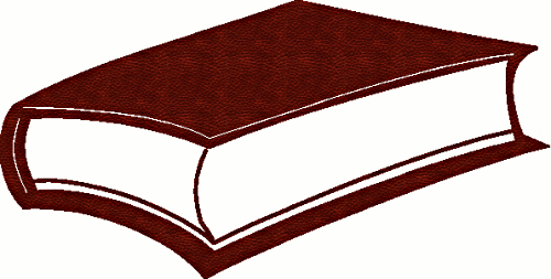Free Leather Book Clipart