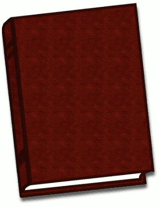 Free Brown Book Clipart