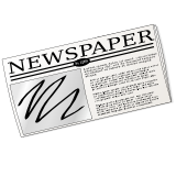 Free School Newspaper Clipart