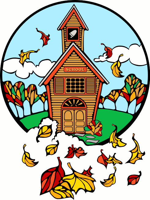 clip art school building. Free Teacher Clipart