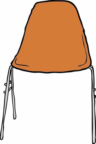 Free School Chair Clipart