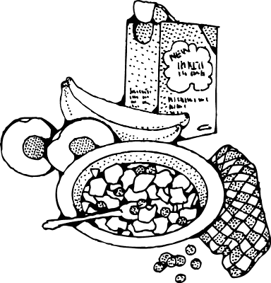 Free Cereal Clipart