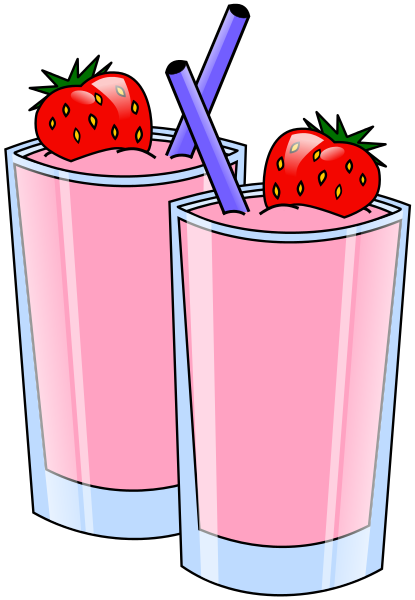 Free Smoothies Clipart