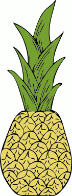 Free Pineapple Clipart