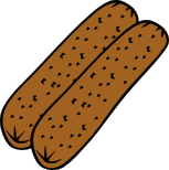 Free Sausage Clipart